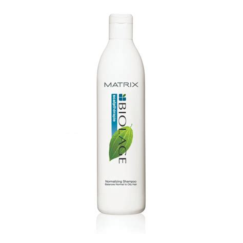 Shoo Matrix haircare matrixcom matrix biolage scalptherapie