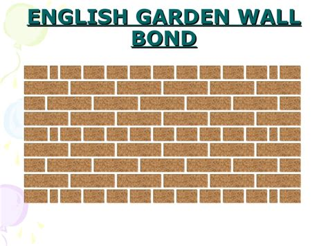 Garden Wall Bond Brickwork Bonding Basics