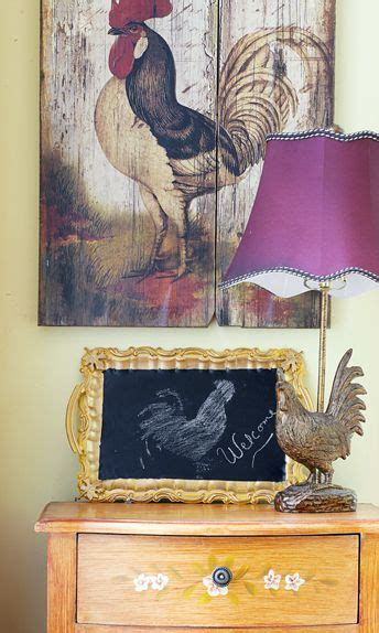 cheap country kitchen decor 12 best images about roosters decor on kitchen