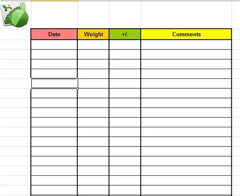 freebie friday weight loss tracker printable and planner insert