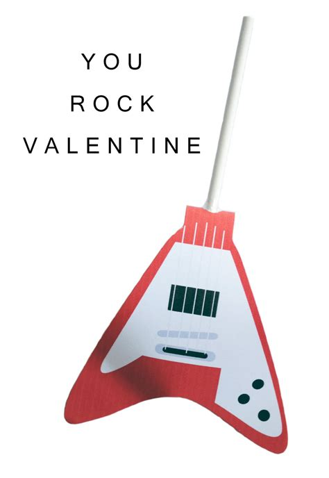 you rock valentines you rock ideas for the rocker happy home