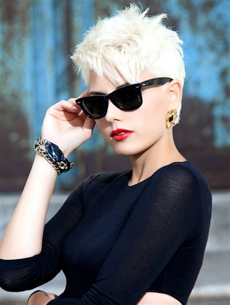 short haircuts edgy razor cut easy razored short hairstyles modern long and short