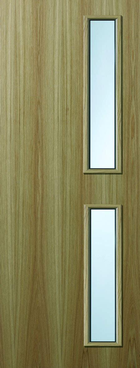Premdor FD30 Glazed VP Oak Half Hour Fire Door
