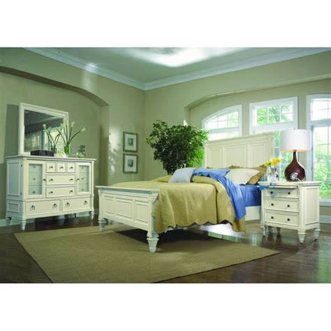 magnussen bedroom set magnussen ashby 4pc queen size bedroom set in patina white