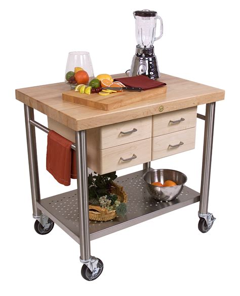 boos kitchen islands boos cucina veneto kitchen cart ven3626