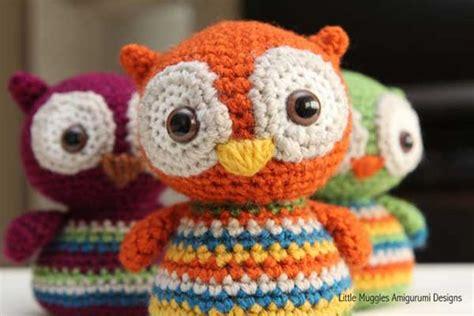 free crochet pattern owl motif baby owl free amigurumi pattern