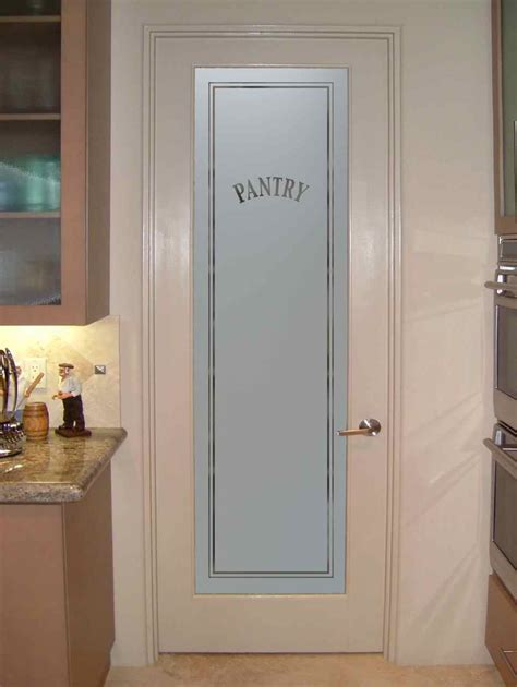 frosted glass pantry door sans soucie art glass