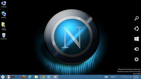 desktop themes exe napoli fc 2013 theme for windows 7 and 8 ouo themes