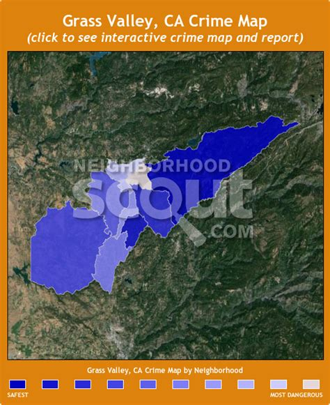 california map grass valley grass valley crime rates and statistics neighborhoodscout