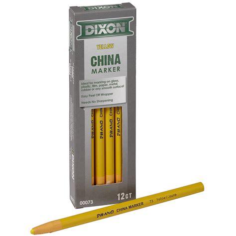 Dixon Phano China Marker dixon phano yellow china markers grand