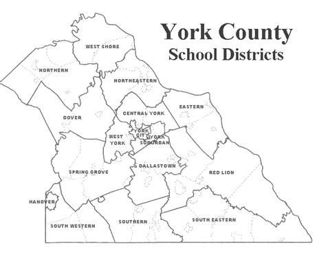 printable map of york pa york county pa home