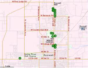 map of roswell hotels in roswell nm southeast new mexico hotels