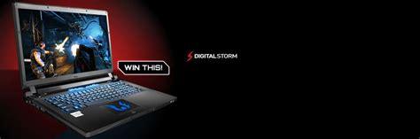 Free Gaming Laptop Giveaway 2014 - digital storm gaming laptop giveaway kristofers blog