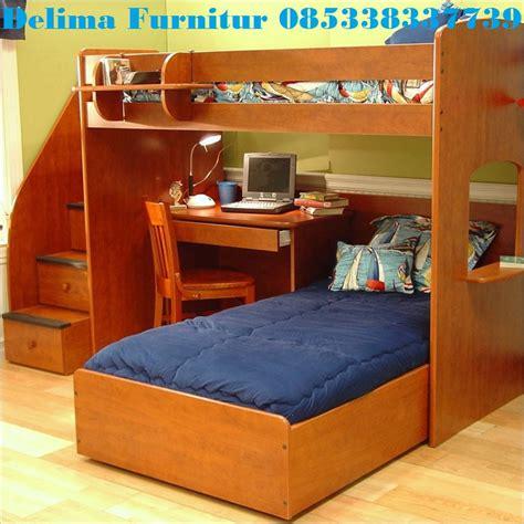 Tempat Tidur Dan Meja Belajar tempat tidur tingkat bawahnya meja belajar ranjang susun