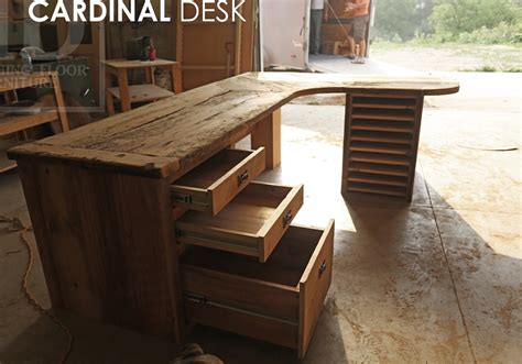 Barnwood Desk by Reclaimed Barnwood Desks Ontario Gerald Reinink