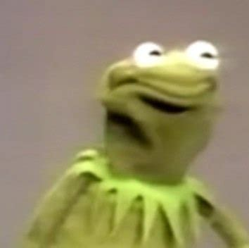 Frog Face Meme - image gallery kermit angry