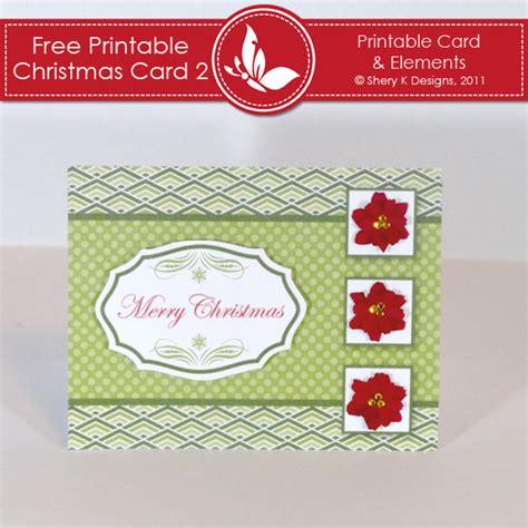 printable christmas cards for her free printable christmas card 2 shery k designs