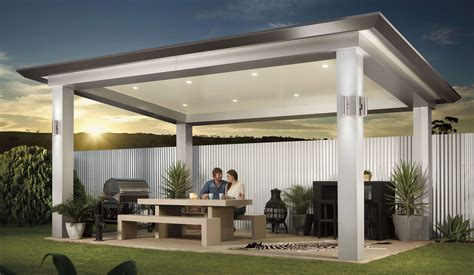 alfresco ideas stratco pavilion alfresco pergola