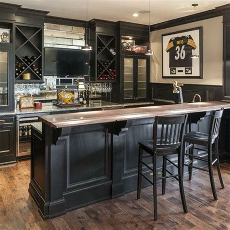 25 cool and masculine basement bar ideas decorazilla
