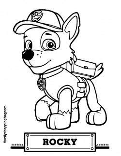 color page coloring pages paw patrol coloring pages