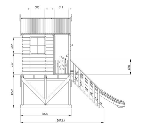 timber cubby house plans rivergum timber cubby house playground equipment