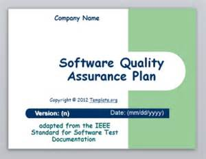 software test plan template template org