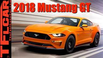 ford brand new cars sneak peak of the brand new 2018 ford mustang gt