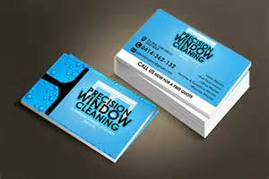 window cleaning business cards quot precision window cleaning quot business card design on behance