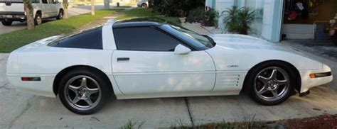 how many cylinders does a corvette sell used 1991 zr1 chevrolet corvette white in orlando