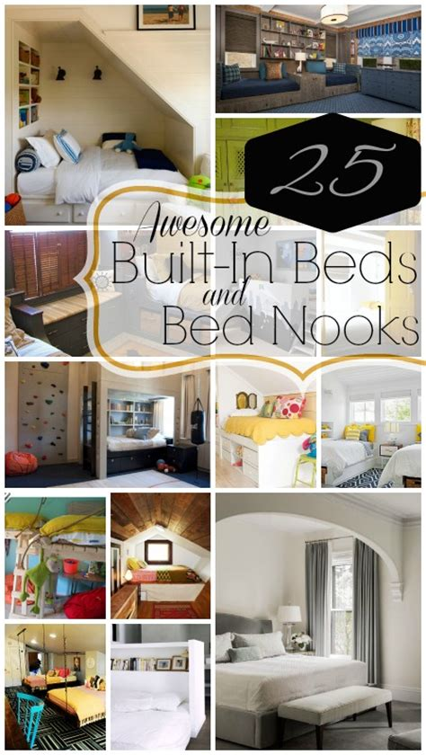 built in bed remodelaholic 25 awesome built in beds and bed nooks
