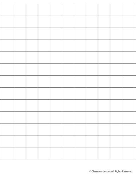 print graph paper 1 inch 75 inch grid paper woo jr kids activities