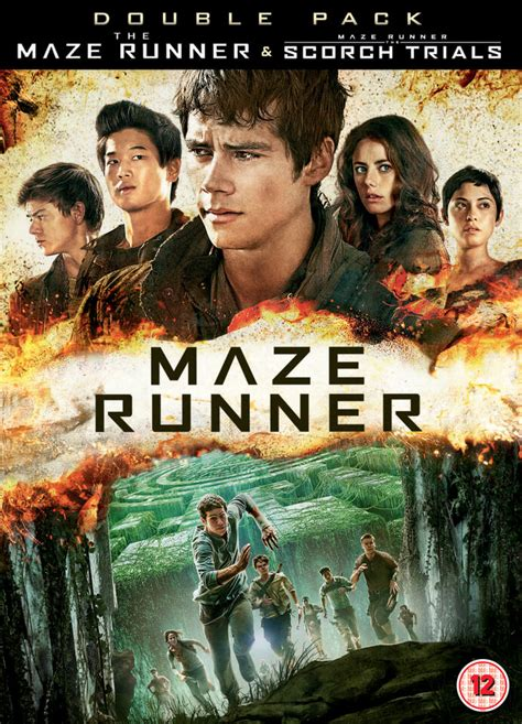 lanjutan film maze runner 2 the maze runner maze runner the scorch trials dvd zavvi com