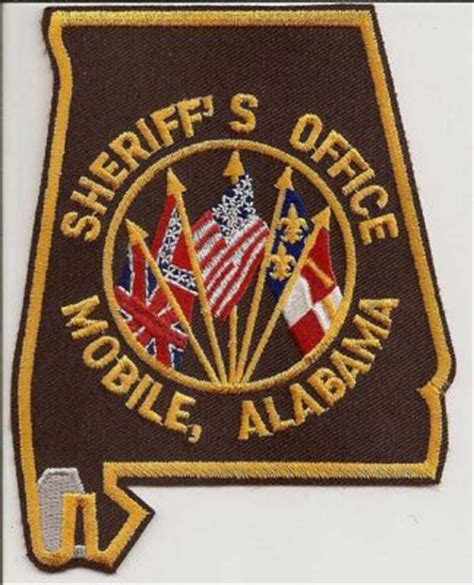 Mobile County Sheriff Office by Alabama Mobile County Sheriff S Office Patchgallery