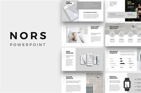 25 Best Minimal Powerpoint Templates 2018 Design Shack Presentation Template Design