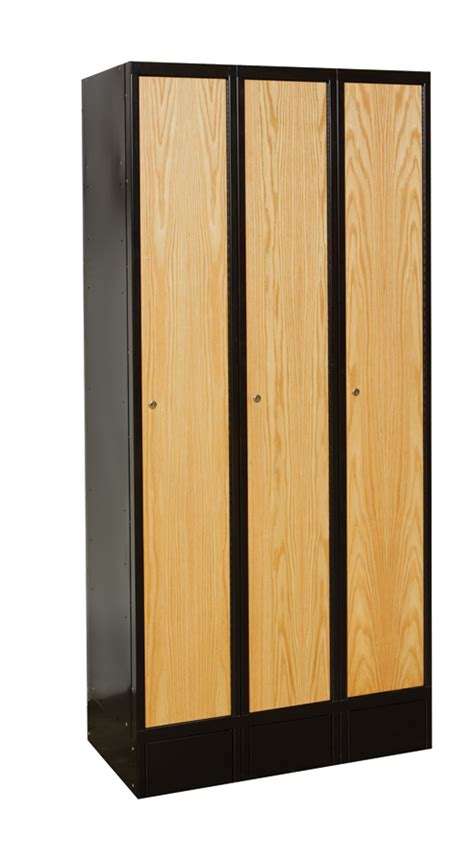 How To Make A Locker Shelf Without Wood wood lockers hybrid lockers wood and metal metal products