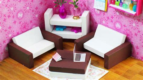 cardboard dolls house furniture templates diy miniature dollhouse furniture simplekidscrafts