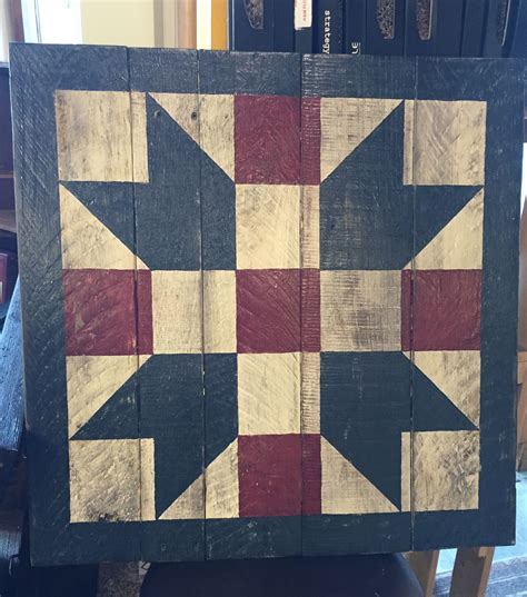 quilt pattern on barns father s choice by barn quilts of wabash county barn