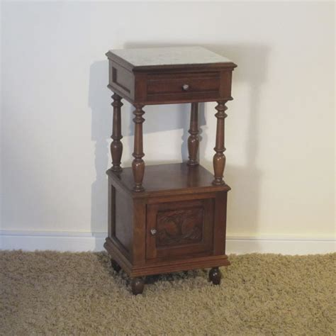 vintage bedside table antique bedside table bt4