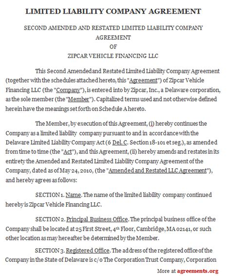 limited liability company agreement template limited liability company agreement template anuvrat info