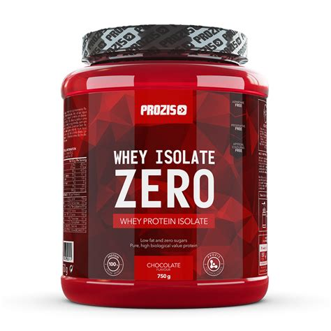 Whey Protein Isolated zero whey isolate 750 g protein prozis