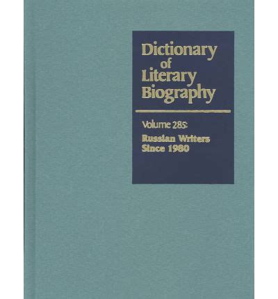 dictionary of literary biography documentary series dictionary of literary biography professor matthew j