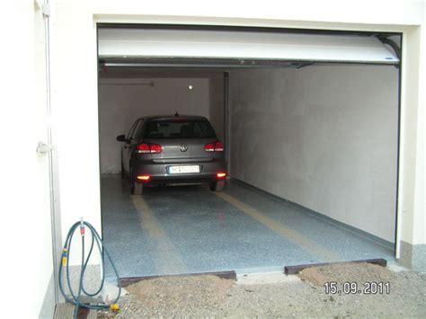 estrich in garage die garage wird in betrieb genommen baublog
