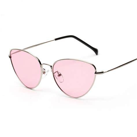 Cat Eye Lens Glasses peekaboo cat eye sunglasses clear lens sun