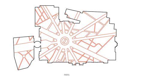 grid pattern urban planning enfiladed grids the museum as city op al op