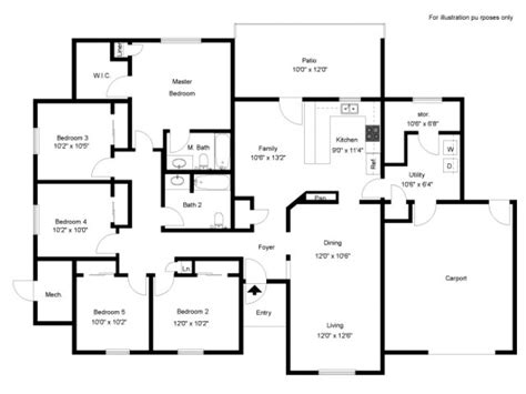 fort hood housing floor plans 5 bed 2 bath apartment in fort hood tx fort hood