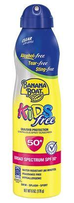 banana boat sunscreen investigation health canada investigates banana boat sunscreen after