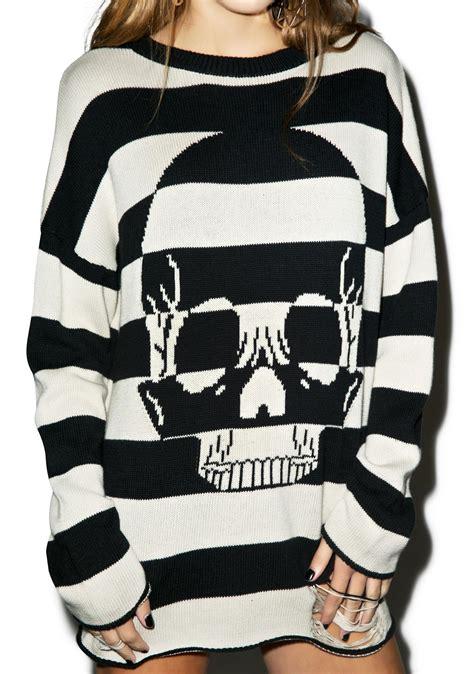 Sweater Surf Urgan 22 iron decay striped sweater dolls kill