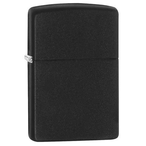 Zippo Lighter Matte zippo matte black regular lighter black 1st