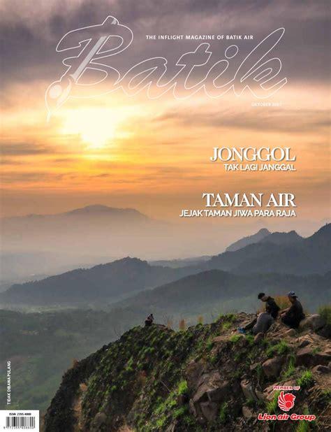 batik air inflight magazine batik oktober 2017 by batik air magazine issuu