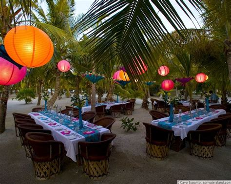 best 25 caribbean ideas on luau table